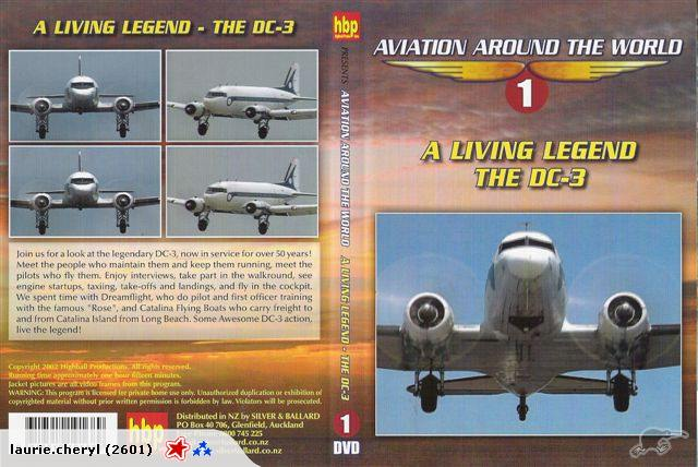 DVD Aviation Around the World volume 1 A living Legend The DC-3