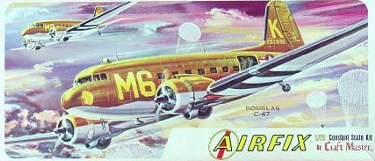 Airfix Craft Master 1407-100 Douglas C-47 72 scale