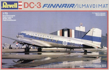 Revell 4234 Douglas DC-3 Finnair and Ilmavoimat 72 scale