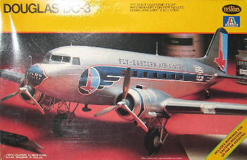 Testors 879 Douglas DC-3 Eastern - Western - Pan Am Airlines 72 scale