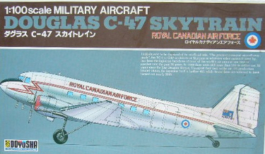 Doyusha DYS 100-C4-2 Douglas C-47 Skytrain Royal Canadian Air Force 100 scale