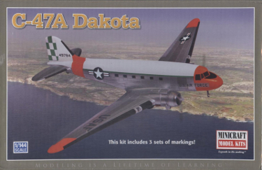 Minicraft 14602 Douglas C-47A Dakota USAF 144 scale