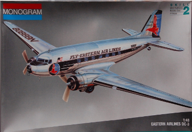 Monogram 5610 Douglas DC-3 Eastern Air Lines 48 scale 1