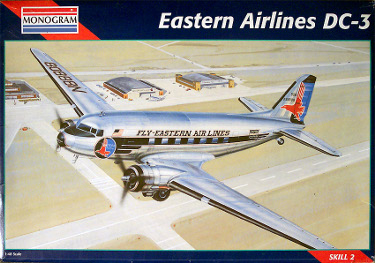 Monogram 5610 Douglas DC-3 Eastern Air Lines 48 scale 2