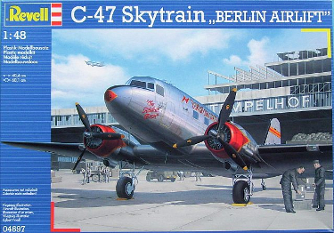Revell 04697-0389 Douglas C-47 Berlin Airlift New 2009 48 scale