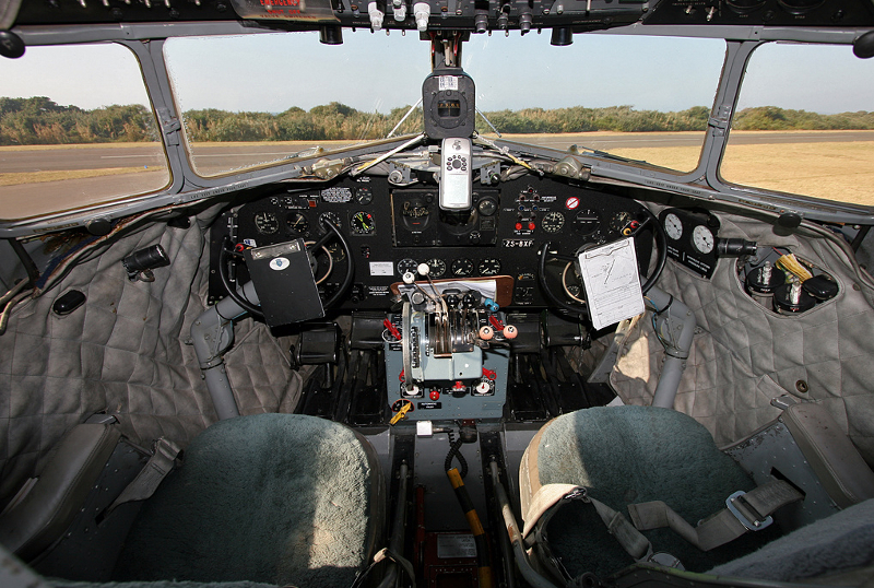 12107 zs-bxf cockpit Virginia Airport Durban 20 June 2009 Gary Shephard