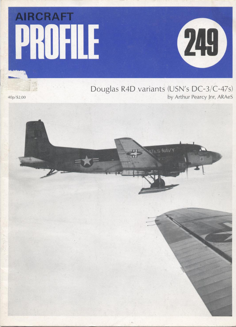 Book Aircraft profile 249 Douglas R4D variants