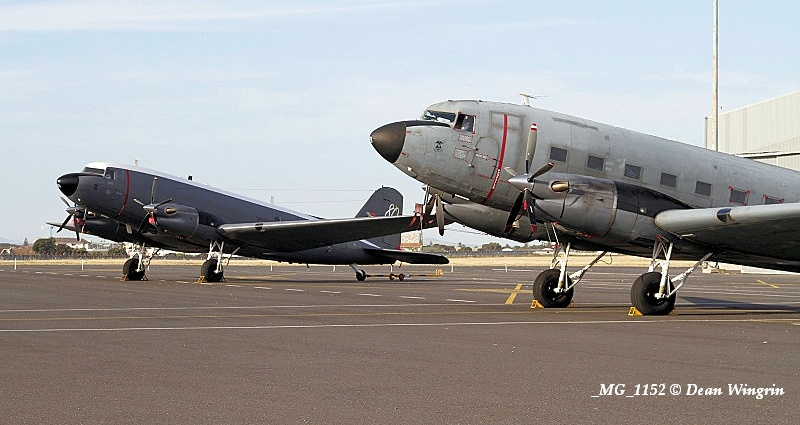 DC-3 C-47 Dakota 80th Anniversary Ysterplaat-14 MG 1152